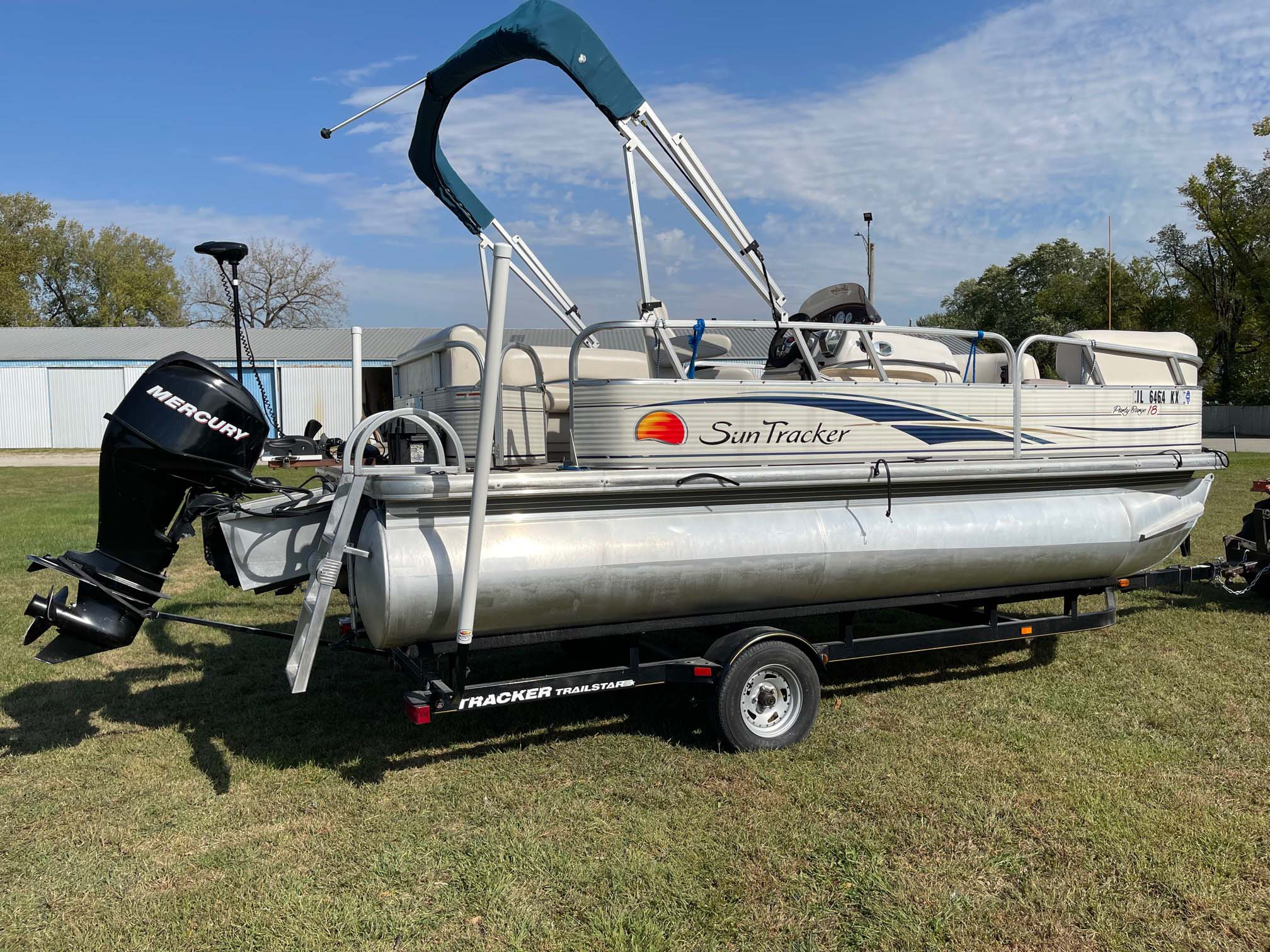 2008 Suntracker Party Barge 18 (5)